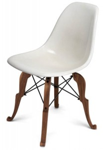 Chaise Eames DSW Modernica piétement Prince Charles