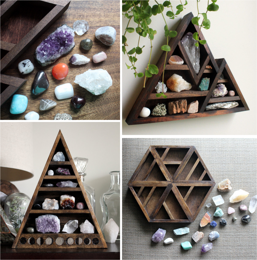 Les collections de pierres par Stone and Violet