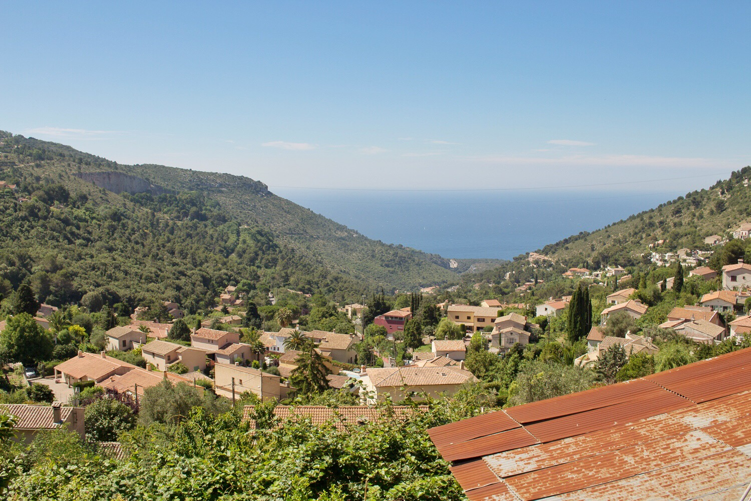 Vue de la Turbie